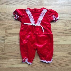 Other - Red velvet jumper